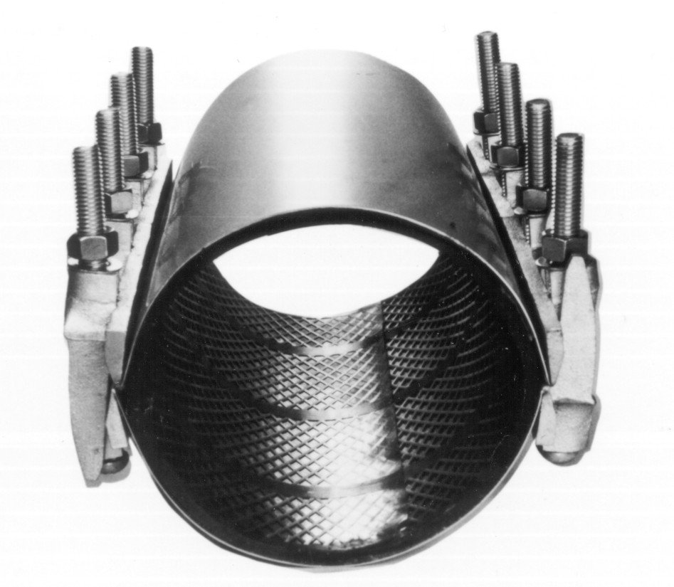 Uniones dresser y giubault - Abrazaderas para tubos ...
